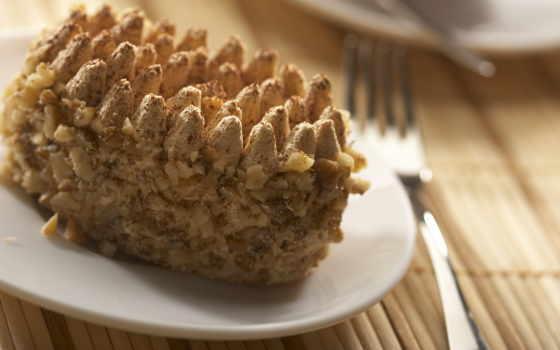 пирожное, eда, рецепты, орешками, блюд, орешки, den, каждый, собраны, ореховое, штушка,