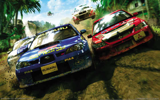 sega, rally, revo, mitsubishi, игры, game, games, subaru,