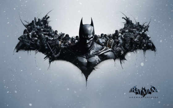 batman, arkham, рыцарь, origins, game, games, joker,