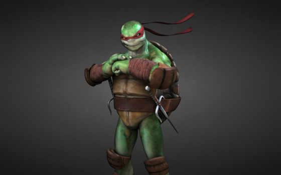 rafael, ninja, черепашки, dark,