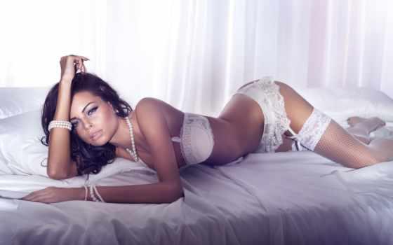 devushki, белье, девушка, чулках, stockings, модель, женщина, lingerie, взгляд, justyna, нижнем,