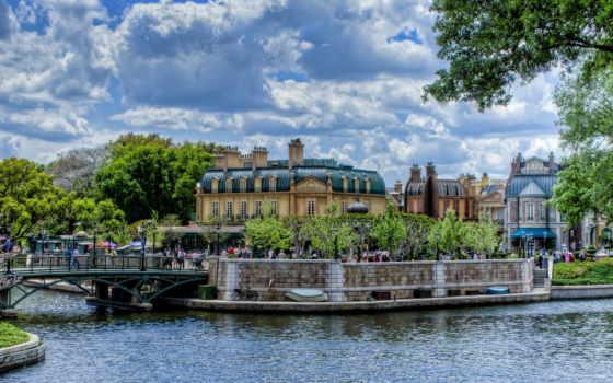 париж, город, desktop, река, images,