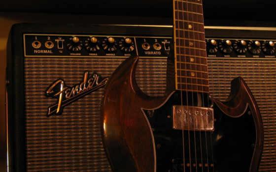 fender, гибсон, гитара