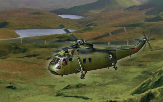 вертолёт, sh-3g, sea king