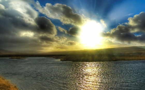 солнца, rising, со