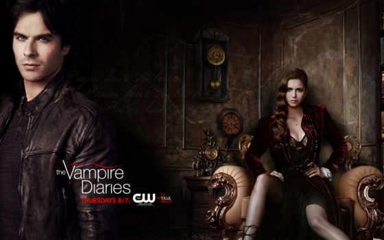 diaries, vampire, дневники, вампира, vampiro, diários, season, temporada,