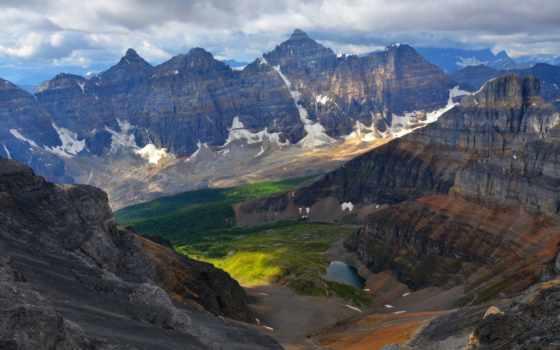 долина, larch, peaks, pass, sentinel, seven, широкоформатные, уголки, дневник,