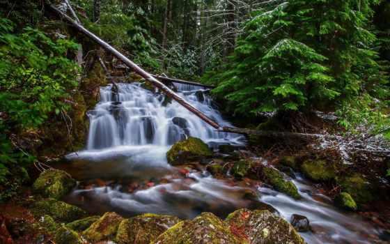 водопад, waterfalls, vízesés, природа, pictures, high,