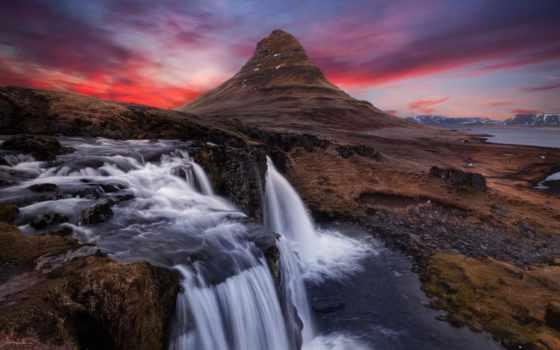 гора, исландии, киркьюфелл, путешествиях, everything, iceland, находится, полуострове, snaefellsfnes, kirkjufell,
