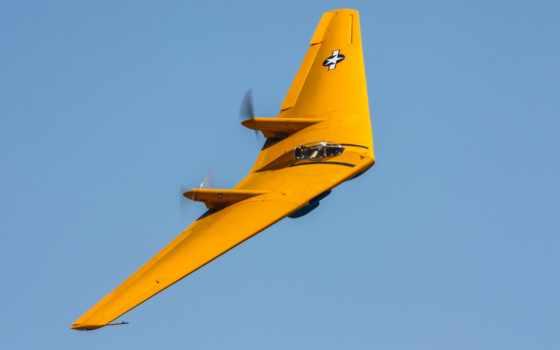 flying, northrop, крыло, полет,