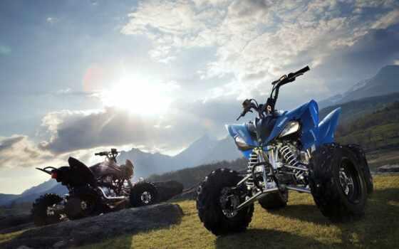 квадроцикл, мотоцикл, гора, vizitka, мототехника