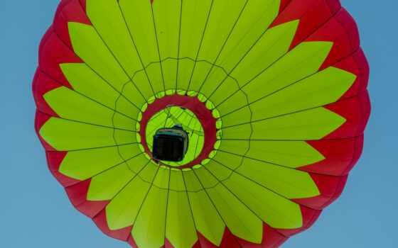 balloon, air, мяч, корзина, hot, полет, weed, небо