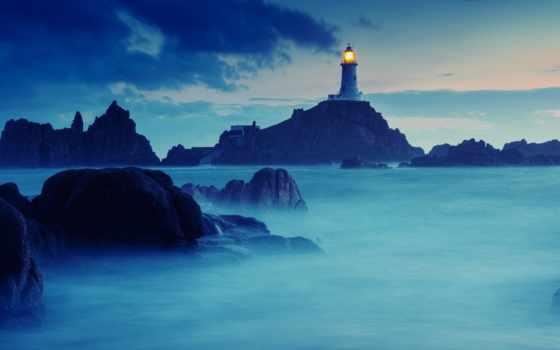 маяк, природа