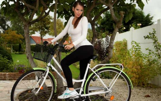 девушки, велосипед, девушка Фон № 35650 разрешение 1920x1200