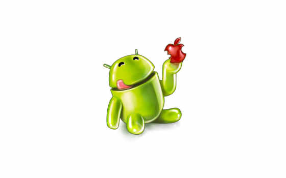 android ест apple