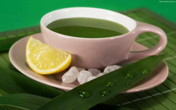 чая, зелёный