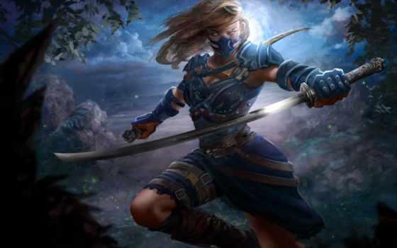 pinterest, меч, характер, art, девушка, fantasy, масть, руке, digital,