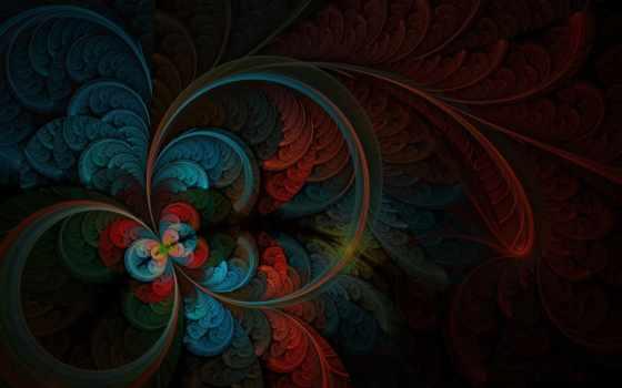 абстракция, рисунок, перья, lines, black, art, фоны, dark, вспышки,