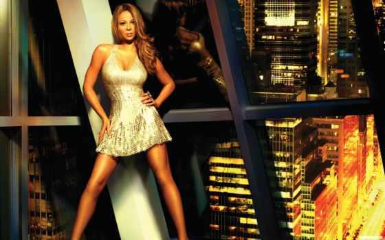 carey, mariah, окно, музыка, город, singer, актриса, картинка, огни,