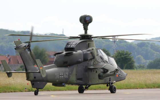 тигр, вертолет, eurocopter, airbus, attack