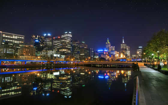 melbourne, город, другой, urban, небо, австралия, панорама, smartphone, mobile, небоскрёб