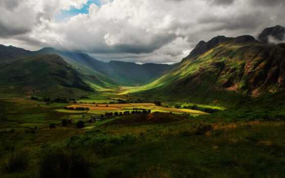 горы, англия