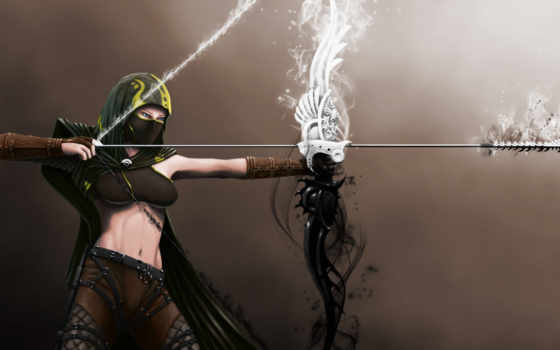 archer, art, archery, save, discover, more, девушка, fantasy, pinterest, see,