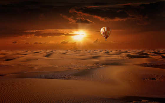 hot, air, balloon