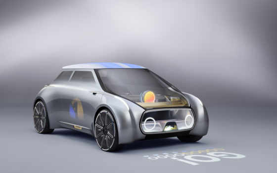 мини, vision, next, cooper, concept, bmw, car, обзор, июнь,