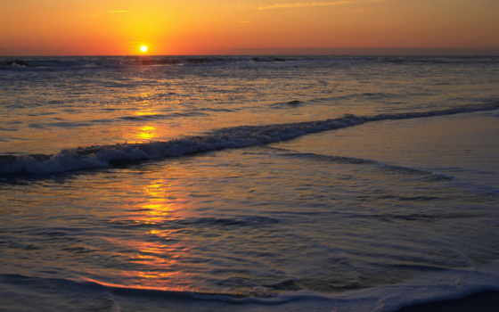 море, солнце