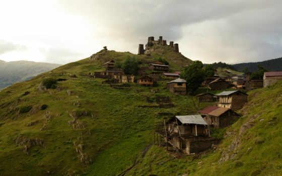 georgia, tusheti, omalo, hills, тур, imagini, научиться, more,