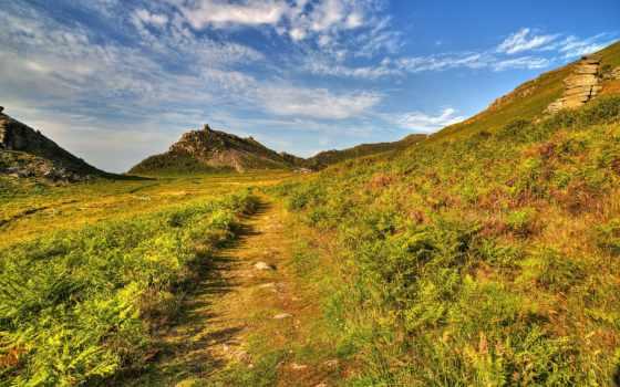 изображение, природа, mountains, bing, тропинка, free, картинка, ук,