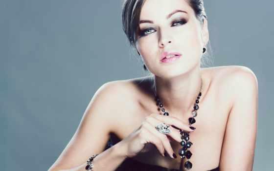 ювелирные, украшения, девушка, растровый, jewelry, красивая, devushki, красавица, клипарт, ювелирных, товар,