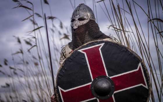 viking, воин, щит, викинги, меч, шлем,