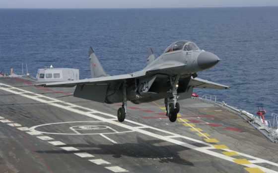 МиГ-29К, кубик, истребители