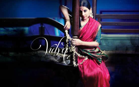 vidya, balan, saree