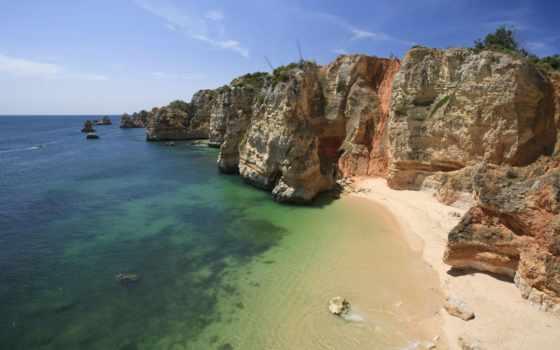 algarve, лагос, португалия, piedade, ponta, praia, vakantie, dona, ana,