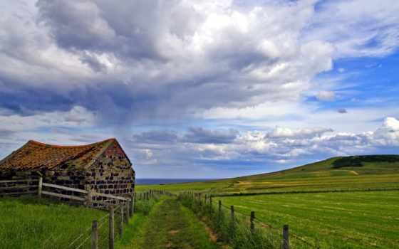 casa, campo, vieja, pantalla, fondo, fondos, naturaleza, campos, антигуа,