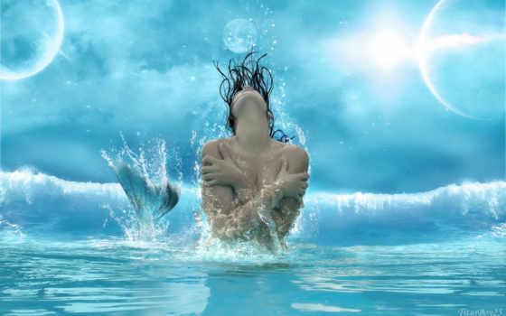 русалка, русалки, изображение