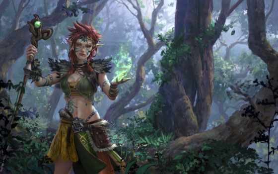 concept, компьютерная, game, art, лес, artist, jungle, edlin, illustrator, экосистема,