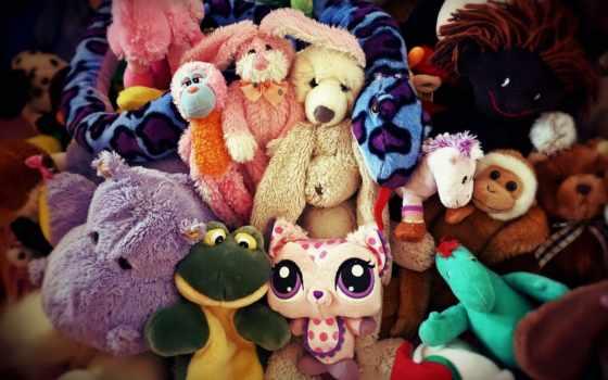 toy, stuffed, зрители