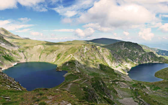 lakes, the, rila, file, to, seven, българия, and,
