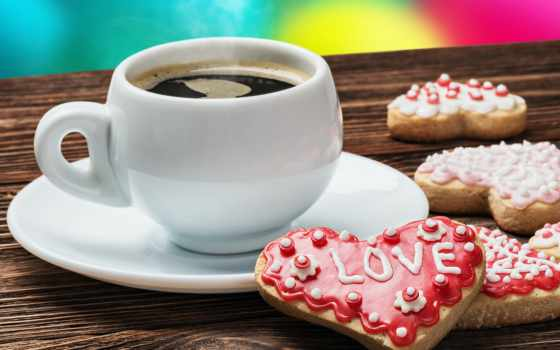 coffee, cup, love, valentine, день, cookie, beautycoffee, чашки,