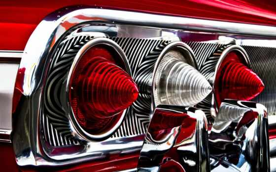 impala, chevrolet, tri, свет,