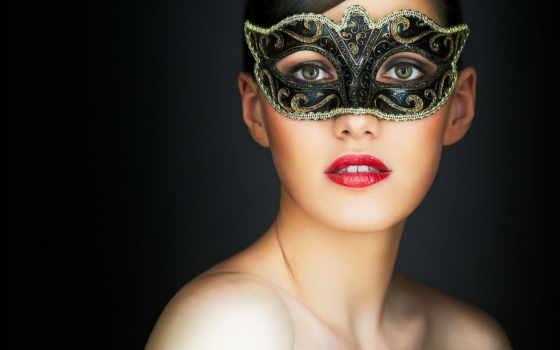 маске, девушка, красивая, маска, carnival, masquerade, фотографий, стоковое, стоковые, маски,