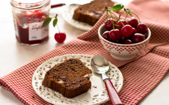 напиток, еда, ягода, cherry, фото, popular, джем