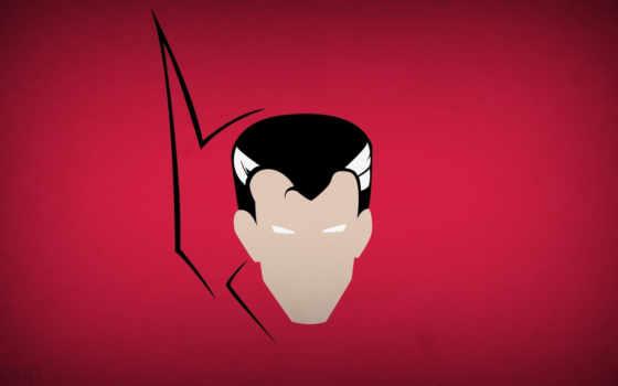 strange, minimalistic, doctor, blo, red, background, картинку, минимализм, download, superheroes,