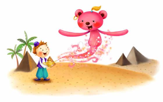 медведь алладина