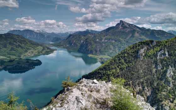 горы, красивые, высокого