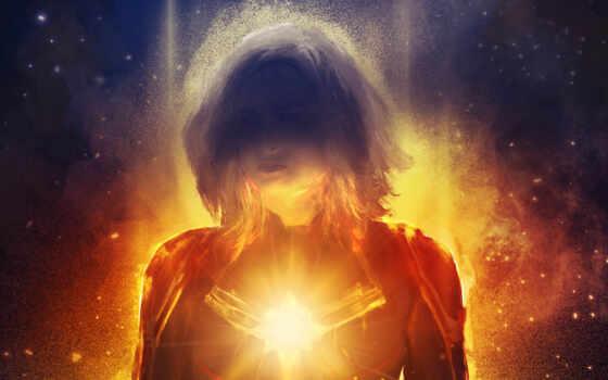 , свет, пространство, а вселенная, огонь, звезда, пламя, carol danvers, nick fury, marvel cinematic universe, captain marvel, marvel studios,  супергерой, marvel comics